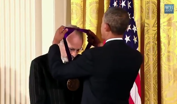 HERB ALPERT & PRESIDENT OBAMA – THE 2012 NATIONAL MEDAL OF ARTS AND HUMANITIES